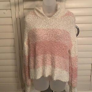 Moral fiber hoodie sweater L